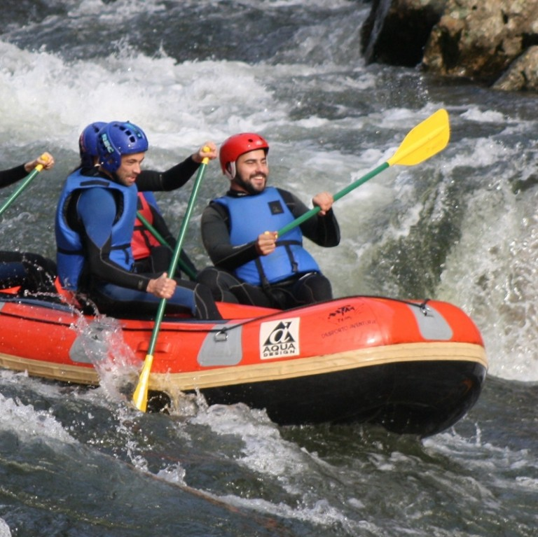 Rafting in North of Portugal