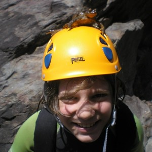 canyoning with kids